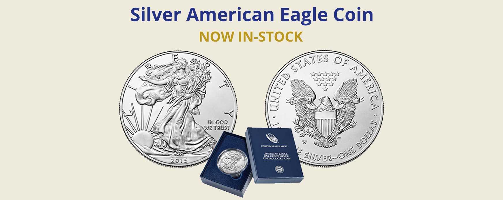Silver American Eagles