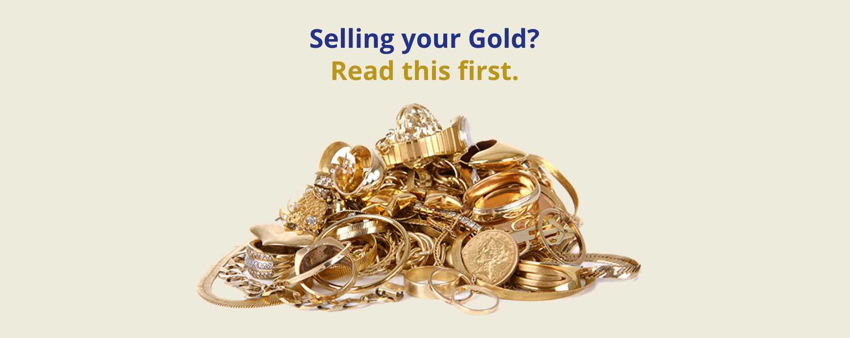 How to Sell Your Gold