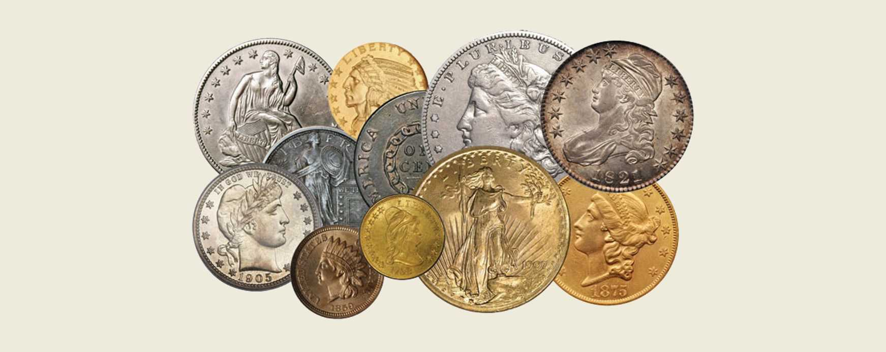We buy and sell U.S. and Foreign Coins